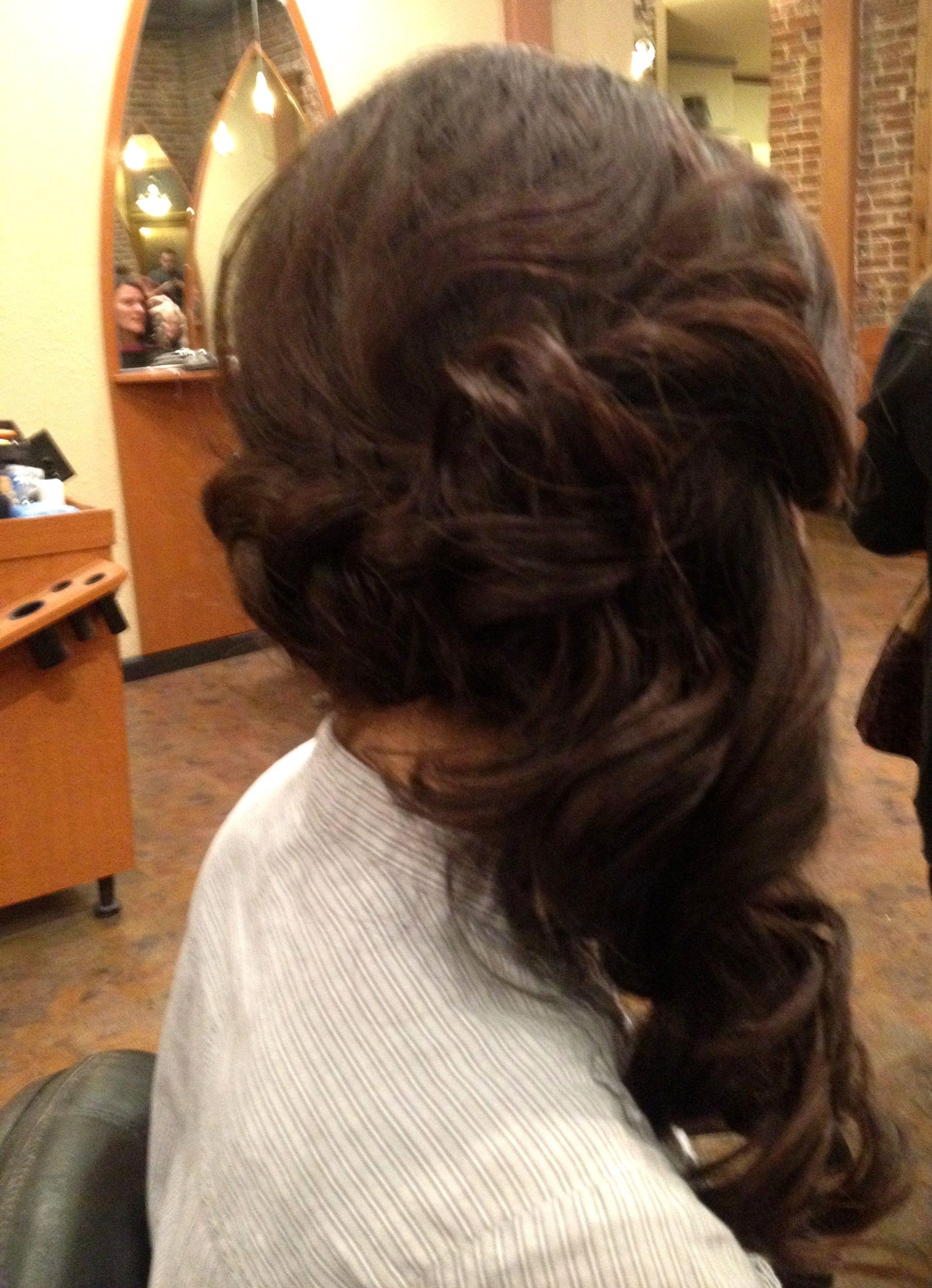 Dutch braid side updo hair u makeup pinterest dutch braids