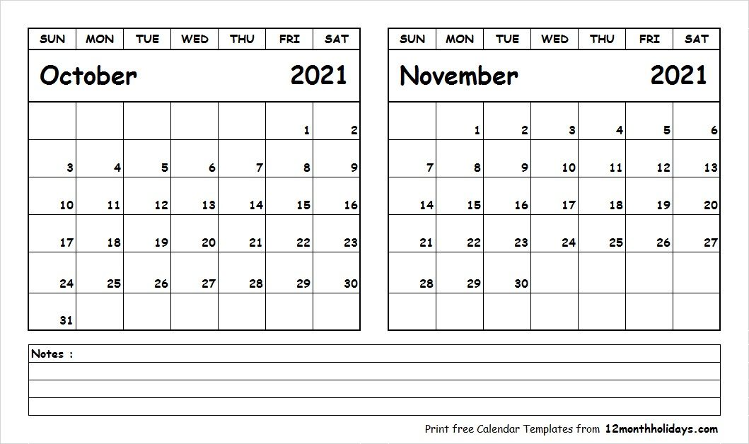 Blank Calendar November 2020.Blank Calendar October November 2020 2018 Calendar 2021 Calendar