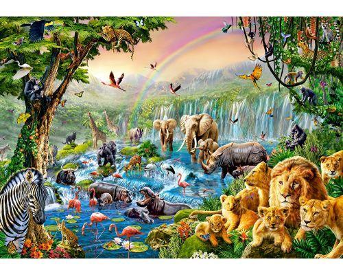 Puzzle Castorland Rio Africano de 500 Piezas