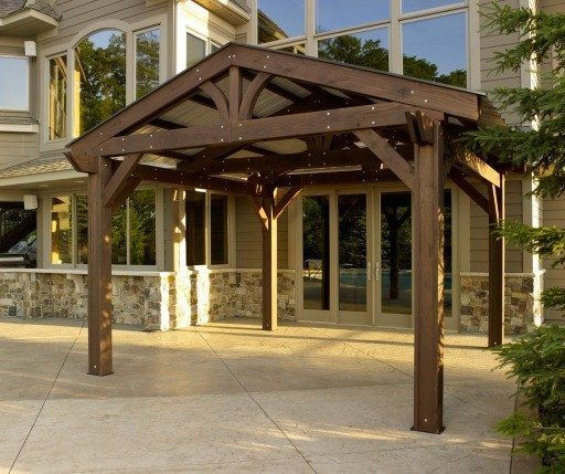 Outdoor Greatroom Company Lodge-II Pergola