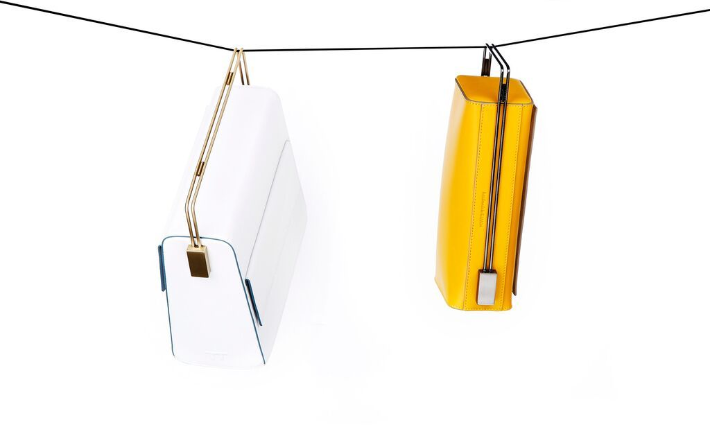 Night and Day Mustard Yellow and my Funny Valentine White. www.lautemshop.com. #lautem # handbag #fashion #design