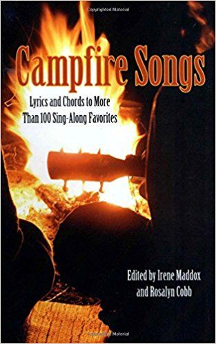 Your camping crew will be thanking you with good memories and laughs when you pull out this book of campfire songs. Cords are even included in case someone in your group has a guitar.    This cool camping gear is guaranteed to bring everyone together for a night of sing-alongs in front of the fire.