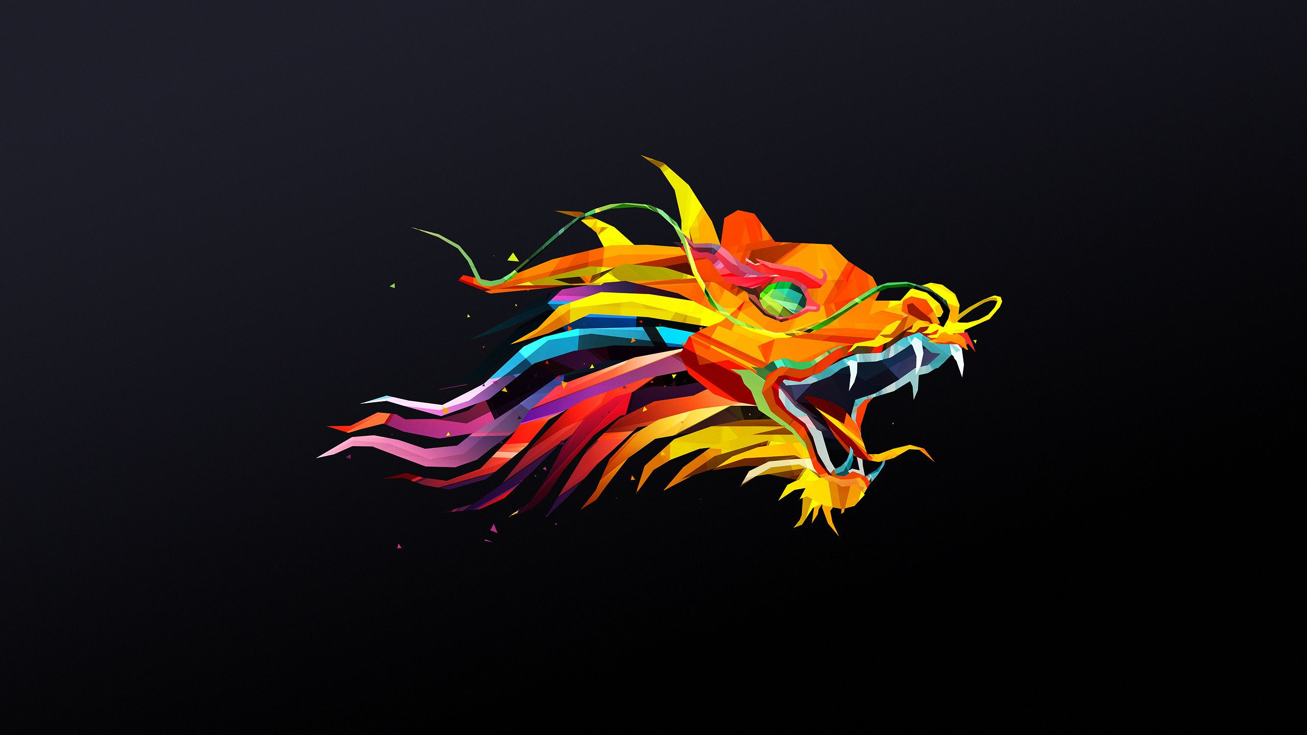 Awesome Animals Wallpapers Geometric Animal Wallpaper Geometric Art Animal Painting Wallpaper