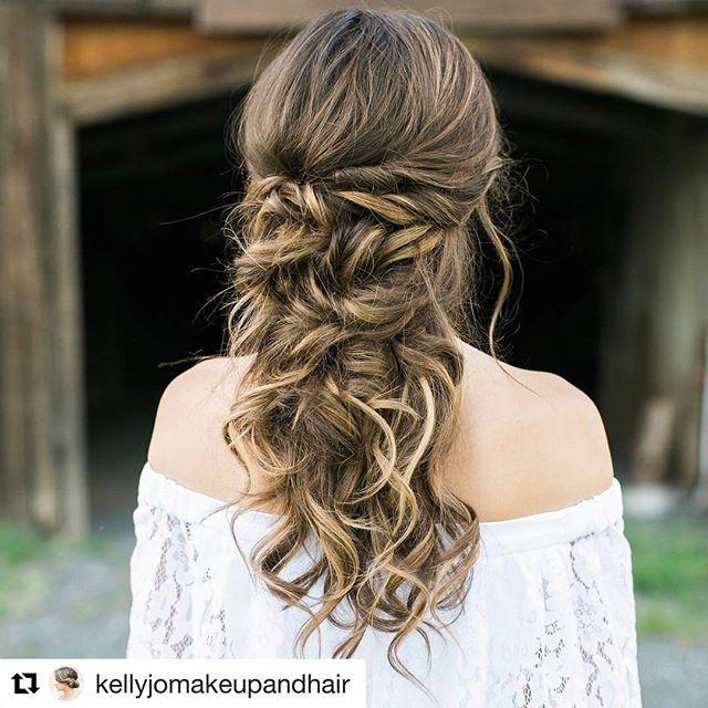 Wedding Hairstyle Hashtags: Gorgeous 🙌🏻 @kellyjomakeupandhair Hashtag