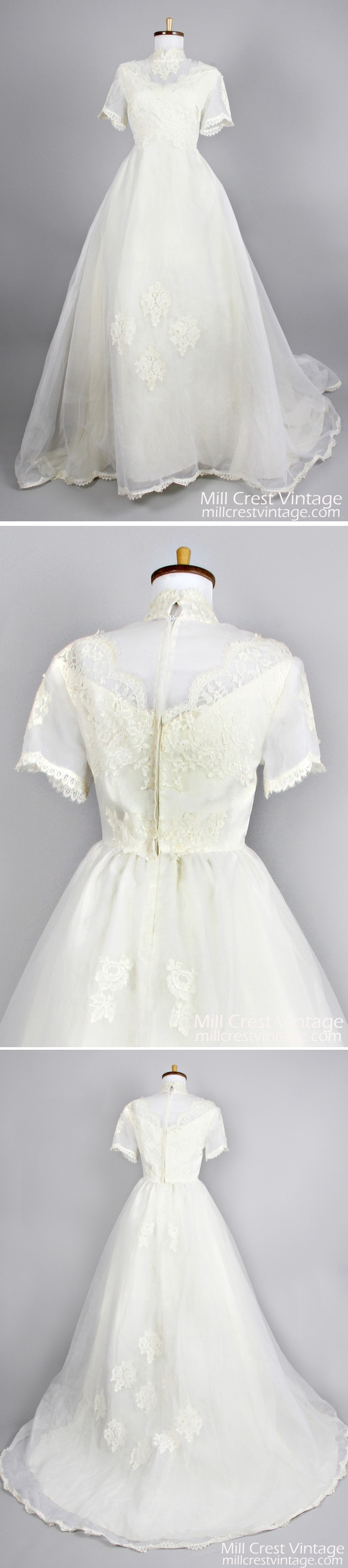 Gorgeous vintage s wedding gown wedding stuff pinterest