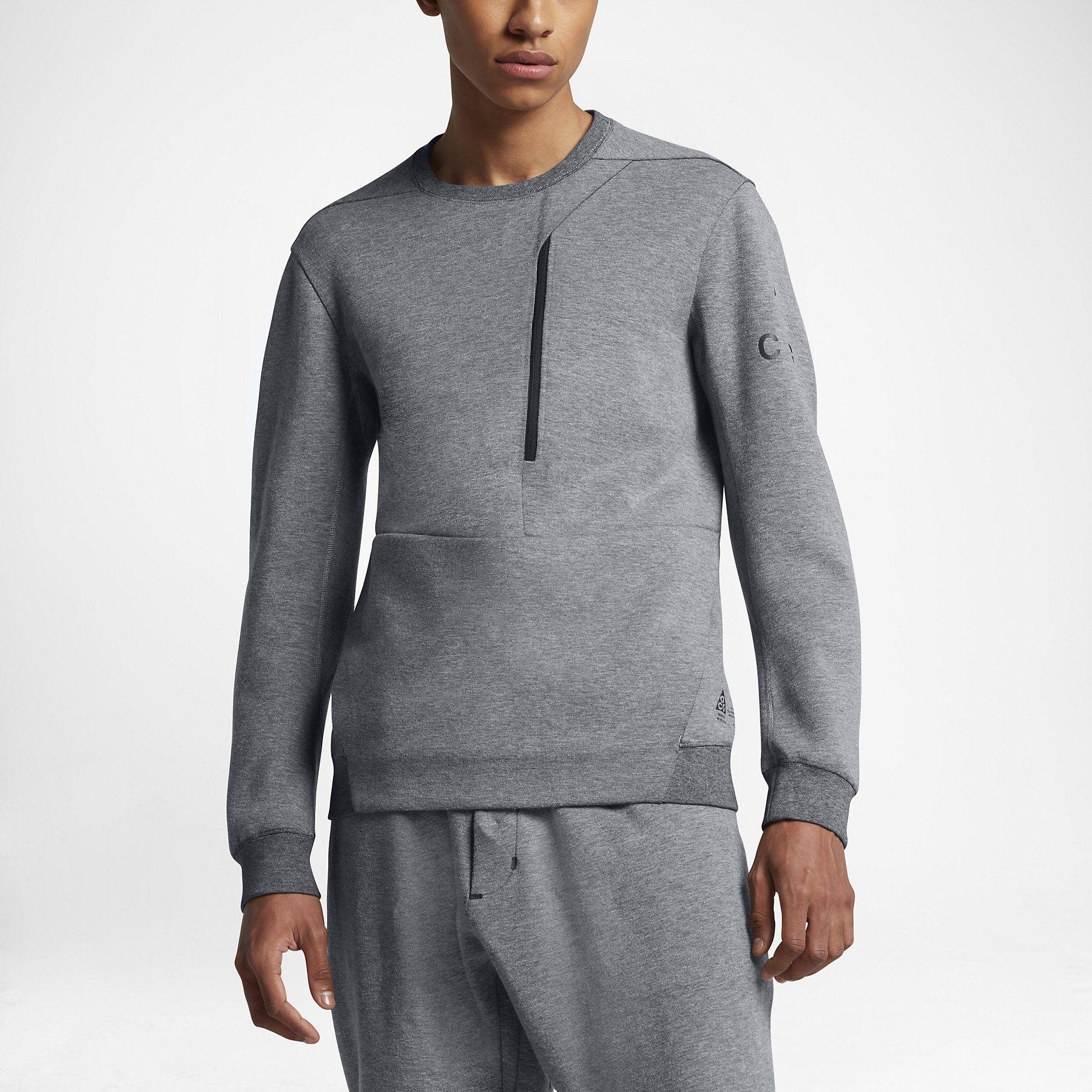 Nike Tech Fleece Quilt Crew