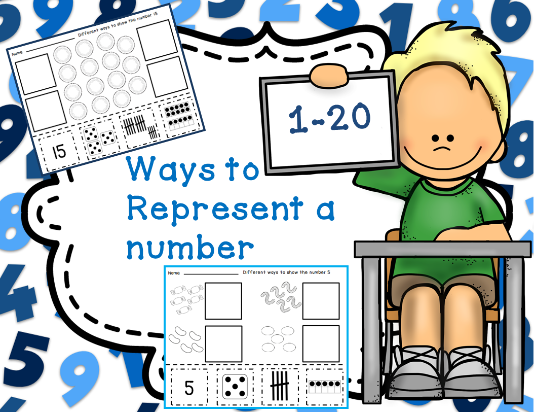 This Set Of Number Recognition Worksheets Focus On 4