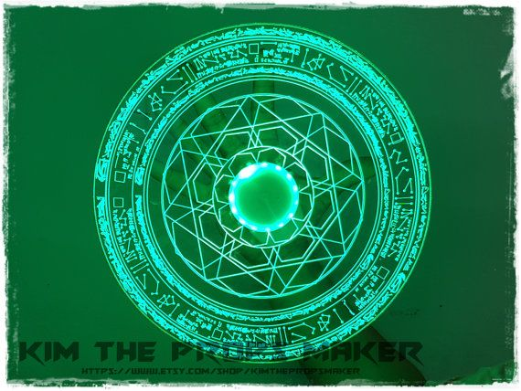 Film Accurate Doctor Strange Light Up Magic Spell Disc