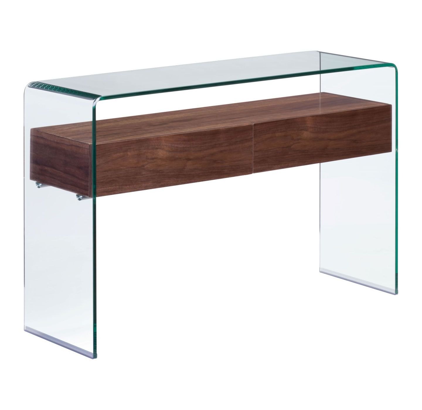 Beautiful Curved Hall Table