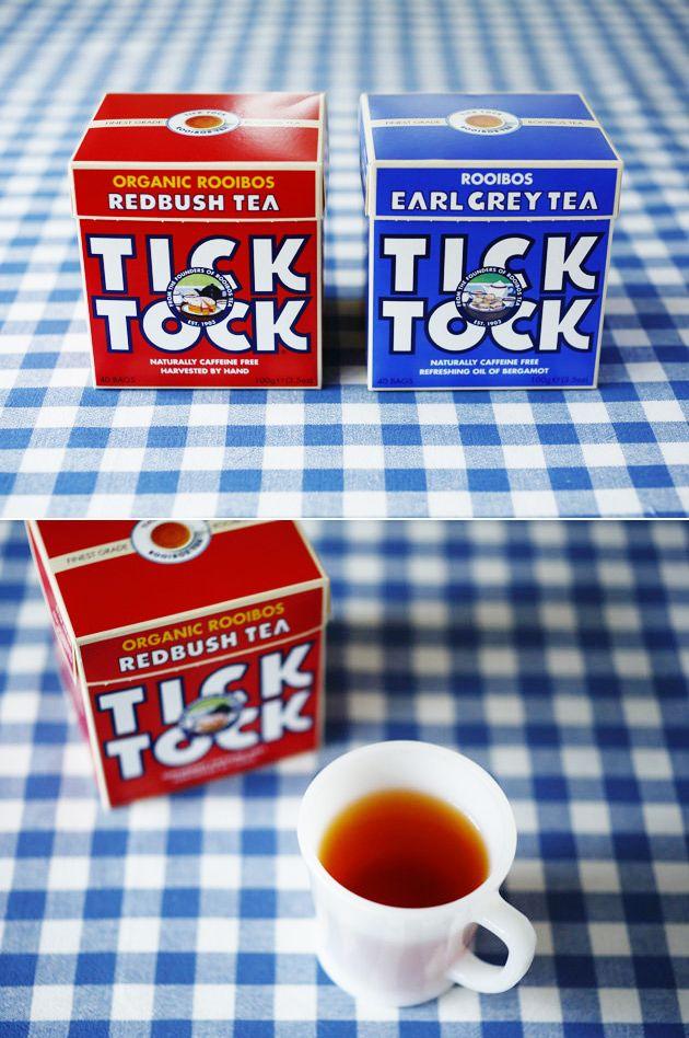 【TICK-TOCK(チックタック)】オーガニックルイボスティー/見た目はポップ、味は100年変わらぬルイボスティー #elleatable #美パケ