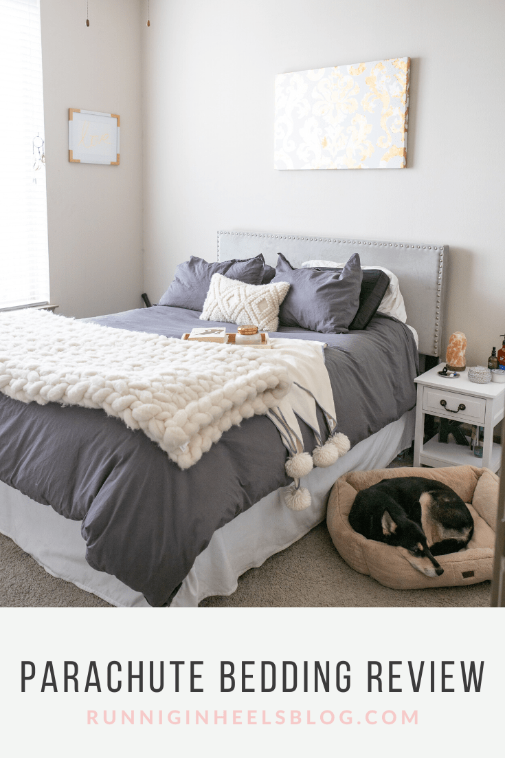 Parachute Bedding Review Home Running In Heels Bed Reviews Parachute Bedding Bed