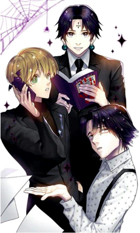 Feitan Sharnalk Chrollo Kirua Anime Garcons Anime