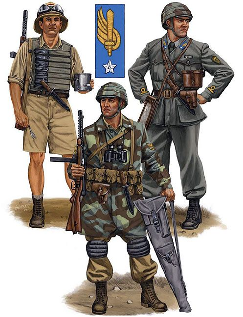 Italian paratroopers ww2 italian pinterest for Uniform spa italy