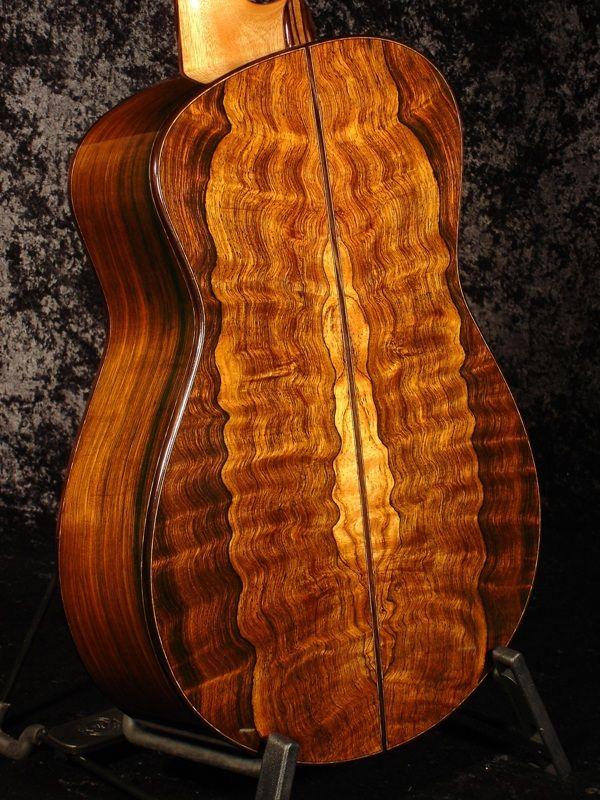 brazilain rosewood classical guitar back by tom bills guitar in 2019 guitar acoustic guitar. Black Bedroom Furniture Sets. Home Design Ideas