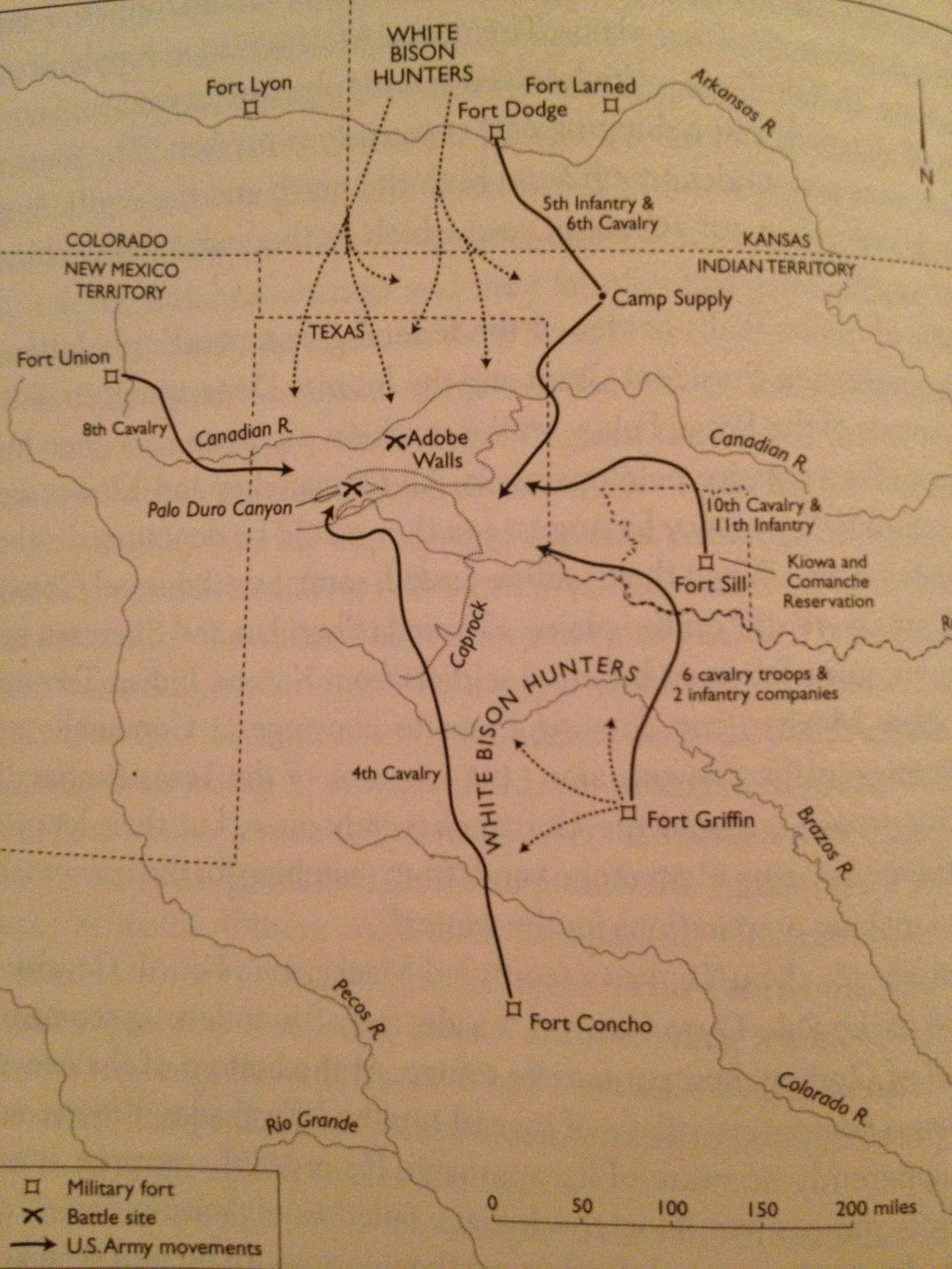 Map Of Poitiers%0A After the invasion of the Comancheria in       at Palo Duro Canyon  the  Comanche u    s