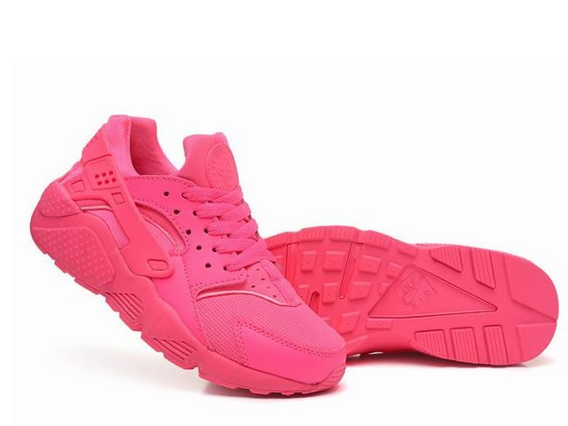 Nike Air Huarache Femme Tout Rose Nike Air Huarache Triple Black