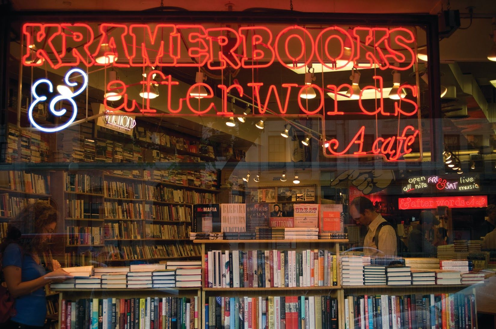 Kramerbooks Afterwords Cafe About Us Washington Dupont Circle Restaurant Offers