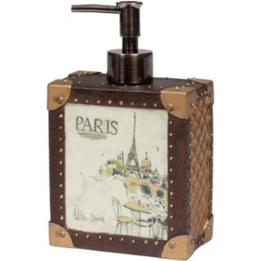 Creative Bath I Love Paris Soap Dispenser found at ...