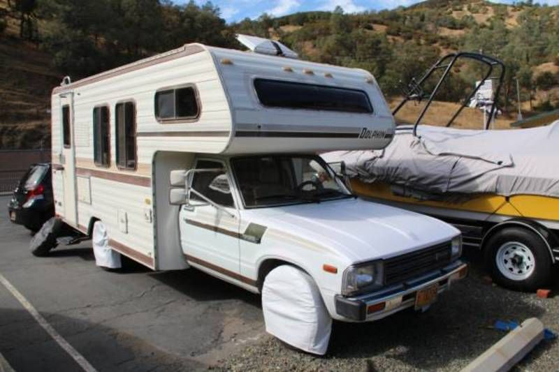 1983 toyota dolphin toyota 22r class c rv for sale by owner in napa california rvt com 187143 toyota dolphin toyota toyota motorhome 1983 toyota dolphin toyota 22r class c