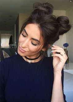 Casual Hairstyles For Lazy Girls Pinmakeuptipss Com Messy Hairstyles Hair Styles Womens Hairstyles