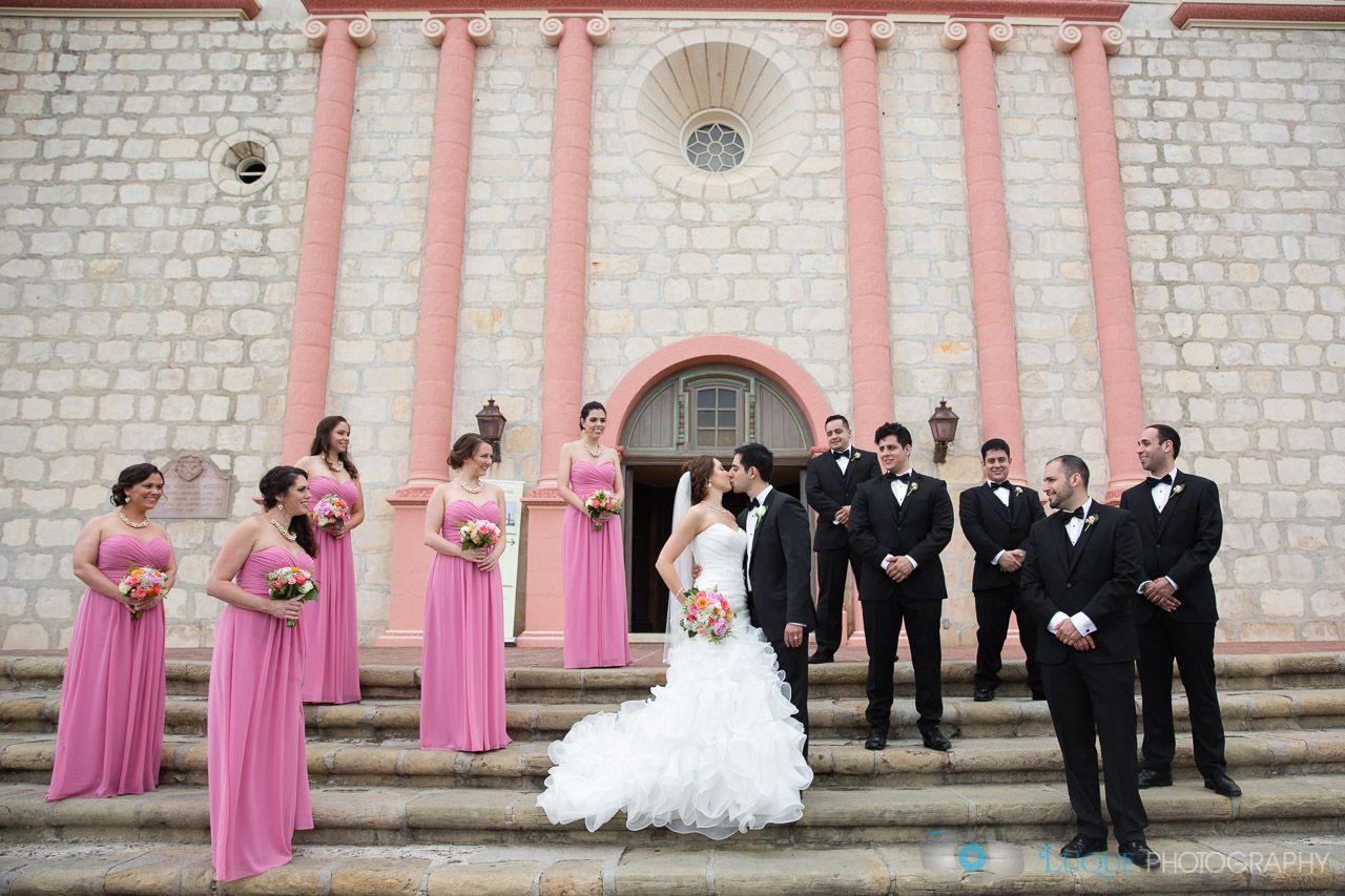 Emlily Fl Old Mission Santa Barbara Wedding