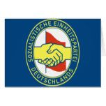 Sozialistische Einheitspartei Deutschlands Card  Sozialistische Einheitspartei Deutschlands Card  $3.30  by GrooveMaster  . More Designs http://bit.ly/2g9LYfi #zazzle