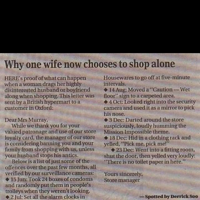 Pretty flippin funny this is nuts i love it!!!!!!!!!!!! quotes - love letter to my husband