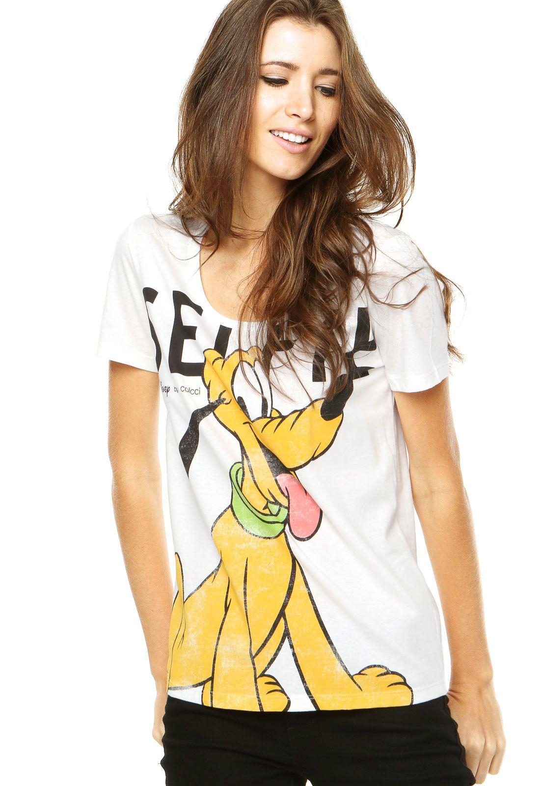 ac05d1c00 Camiseta Colcci Branca - Compre Agora | Dafiti Brasil