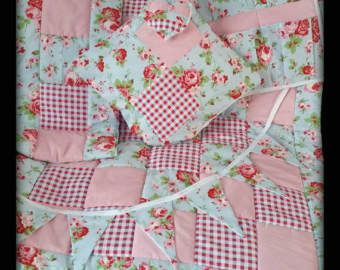 Crib Quilt Cot Quilt Bumper Set Cath Kidston Rosali Fabrics 6piece Shabby  Chic Handmade Patchwork Cot Bed Quilt Playmat Tummy Time Comforter 654cecb5ac