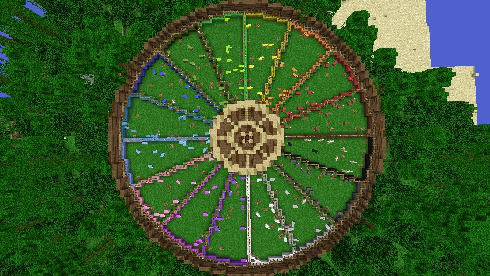 Public Wool Farm Minecraft Blueprints Minecraft Farm Minecraft