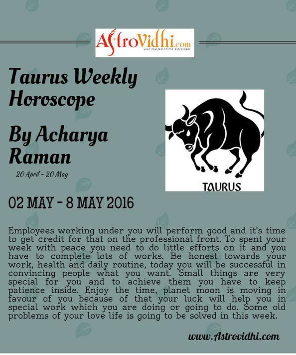 taurus this weekly horoscope