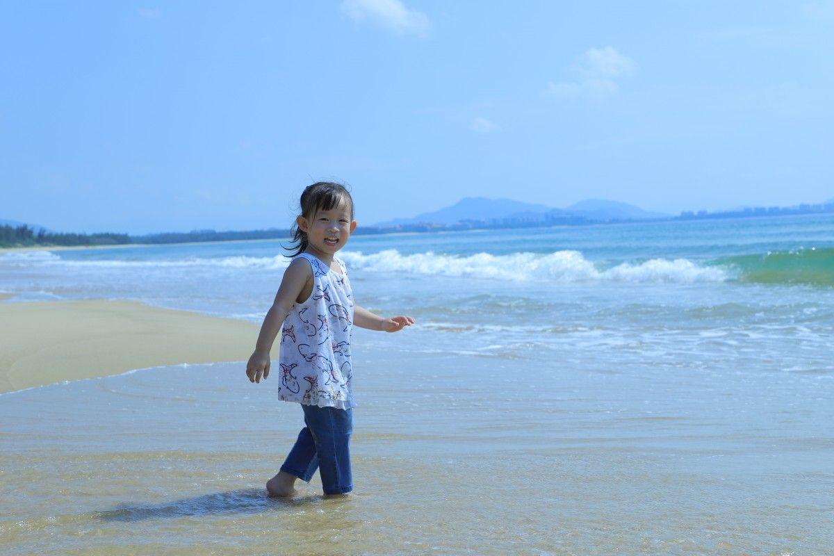 تتمتع البحر في عطلة Photo Beach Cover Up