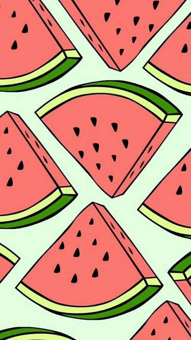 Seamless pattern Watermelon Fond d'écran pastèque