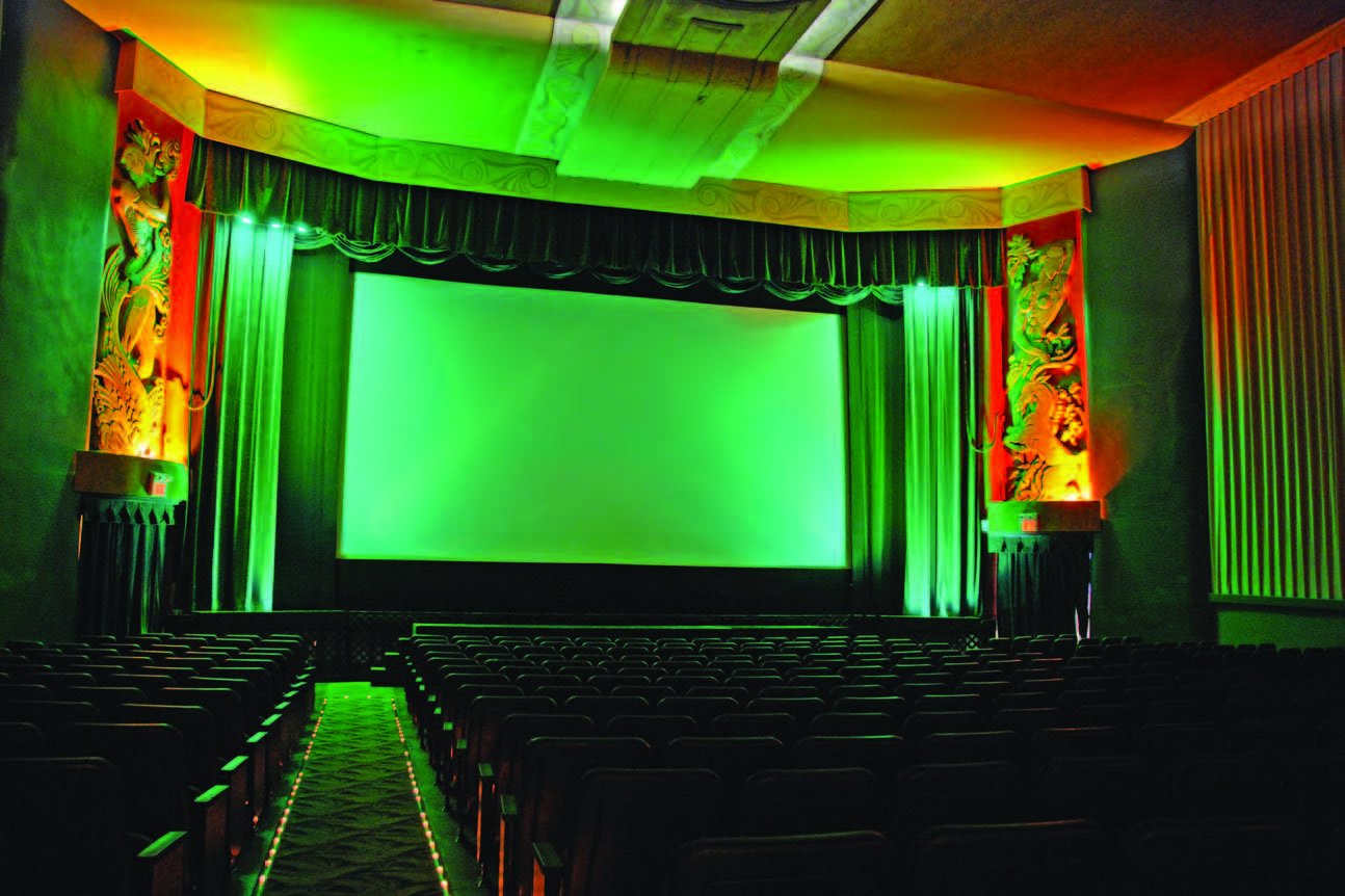 The Stunning Auditorium Of The River Oaks Theatre Features Land Sea Reliefs Flanking The Screen John Daughert Houston Attractions River Oaks Houston River