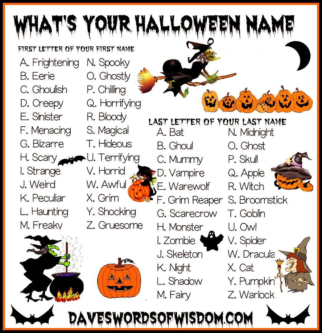 what+is+your+halloween+name.jpg 1,044×1,078 pixels | Business ...