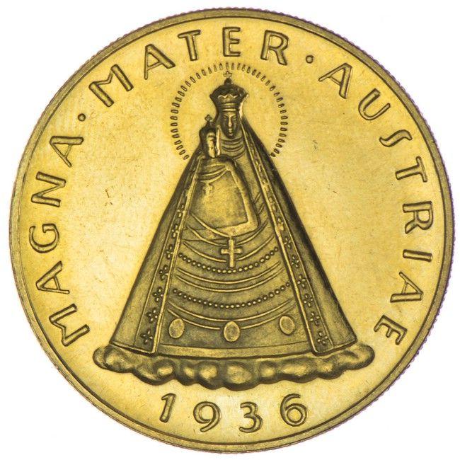 100 Schilling 1936 Erste Republik 1. Republik-Bundesstaat 1918 - 1938