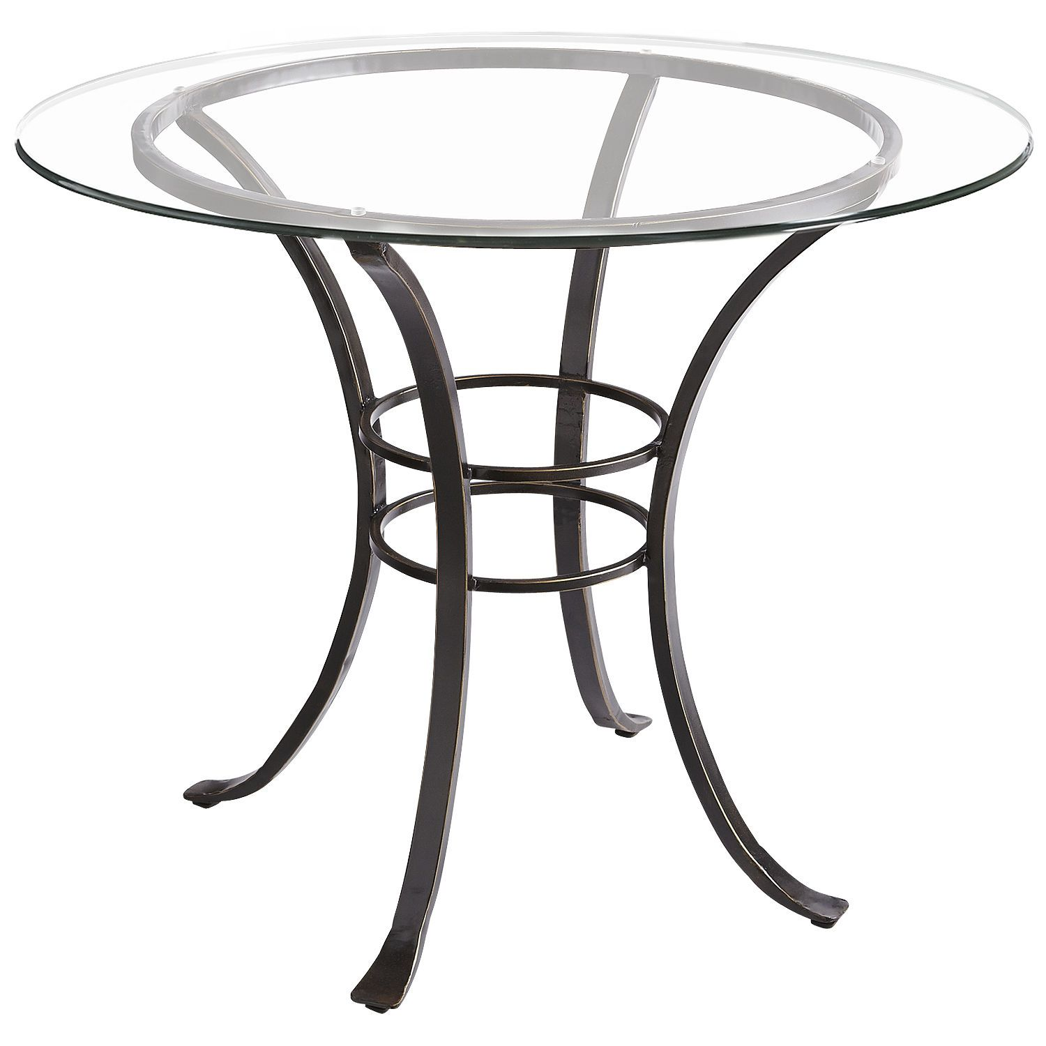 Arden Dining Table Base From Pier One You Could Add An Oval