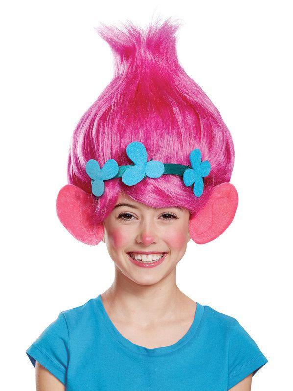 kids trolls poppy wig halloween pinterest. Black Bedroom Furniture Sets. Home Design Ideas