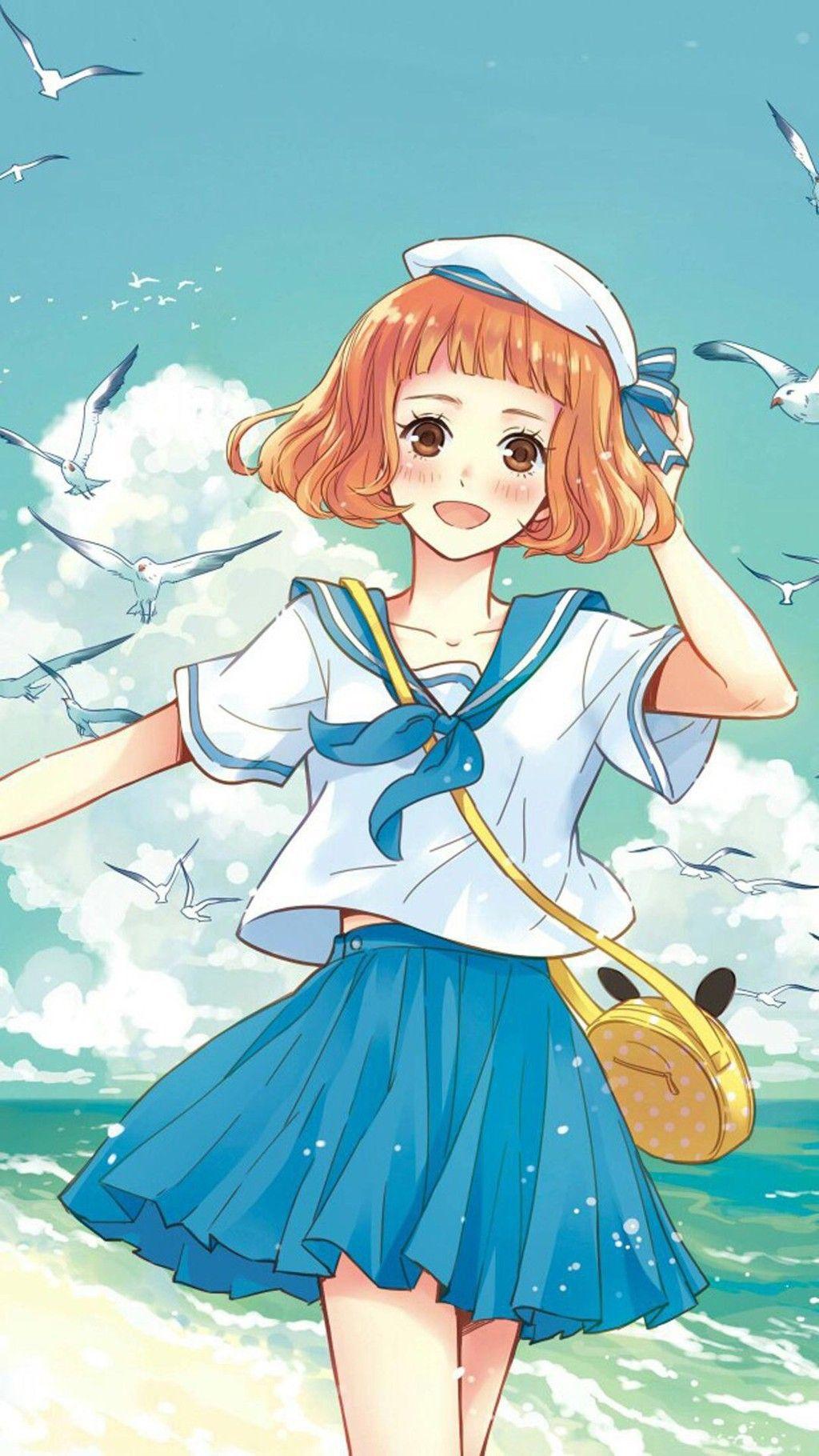 headphones girl anime anime girls / 1920x1200 Wallpaper