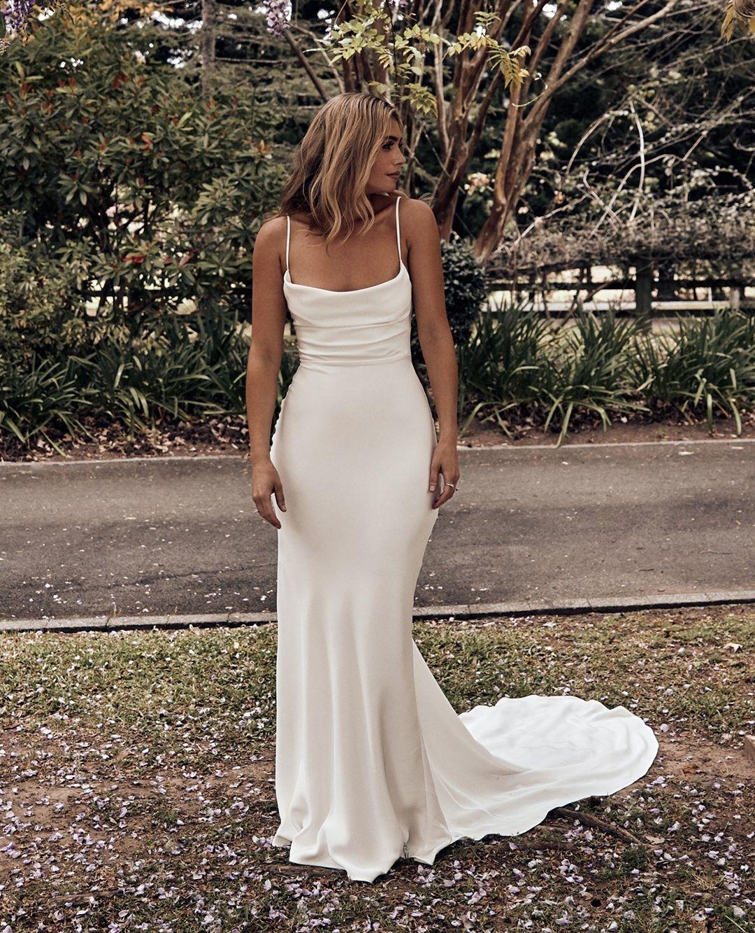 15+ Silk wedding dress ideas