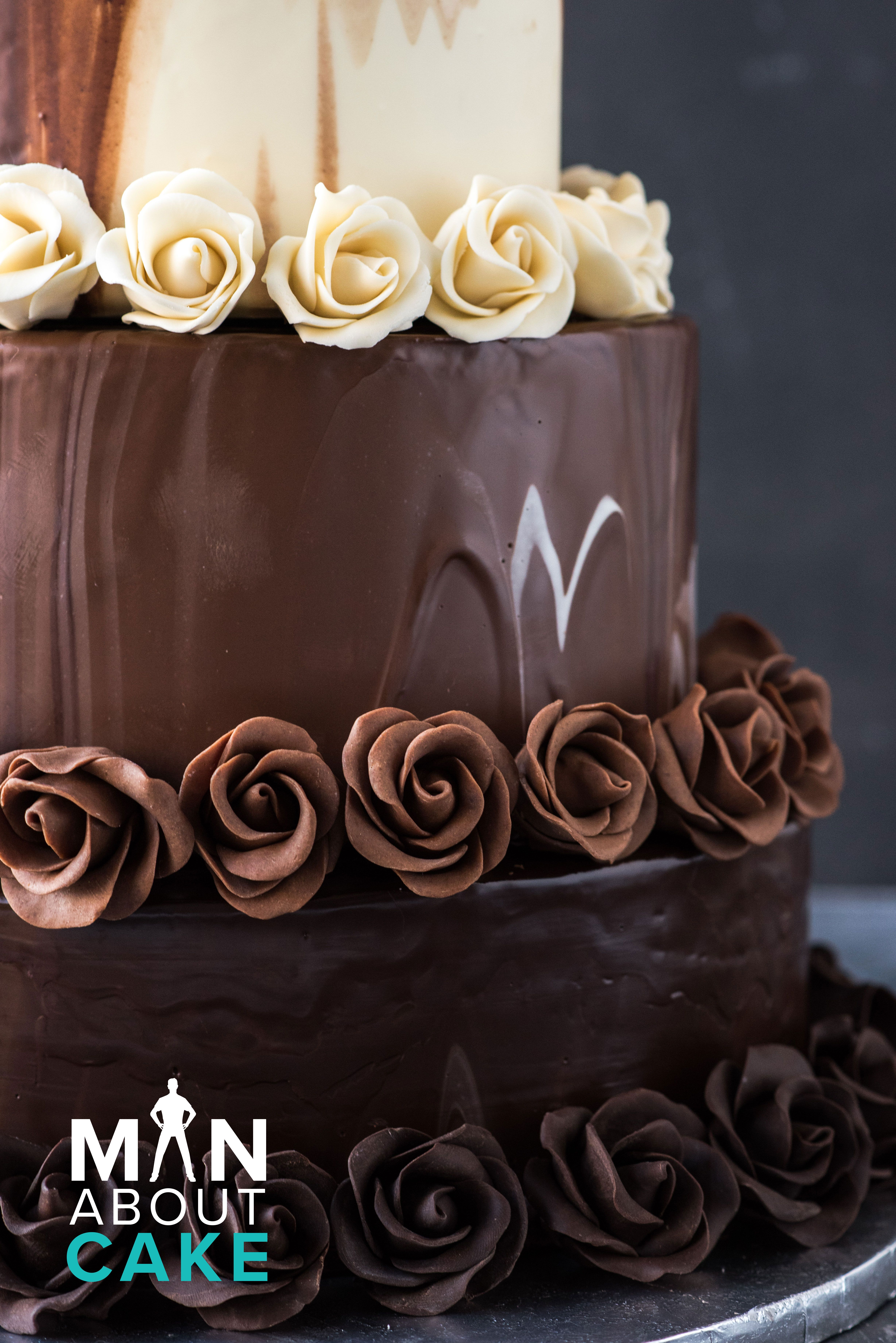 Click Through For The Tutorial To Make This Elegant Chocolate