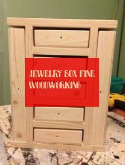 jewelry box fine woodworking
