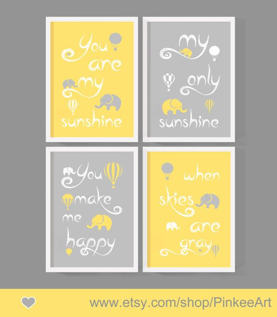 baby boy nursery wall saying you are my sunshine my only sunshine ...
