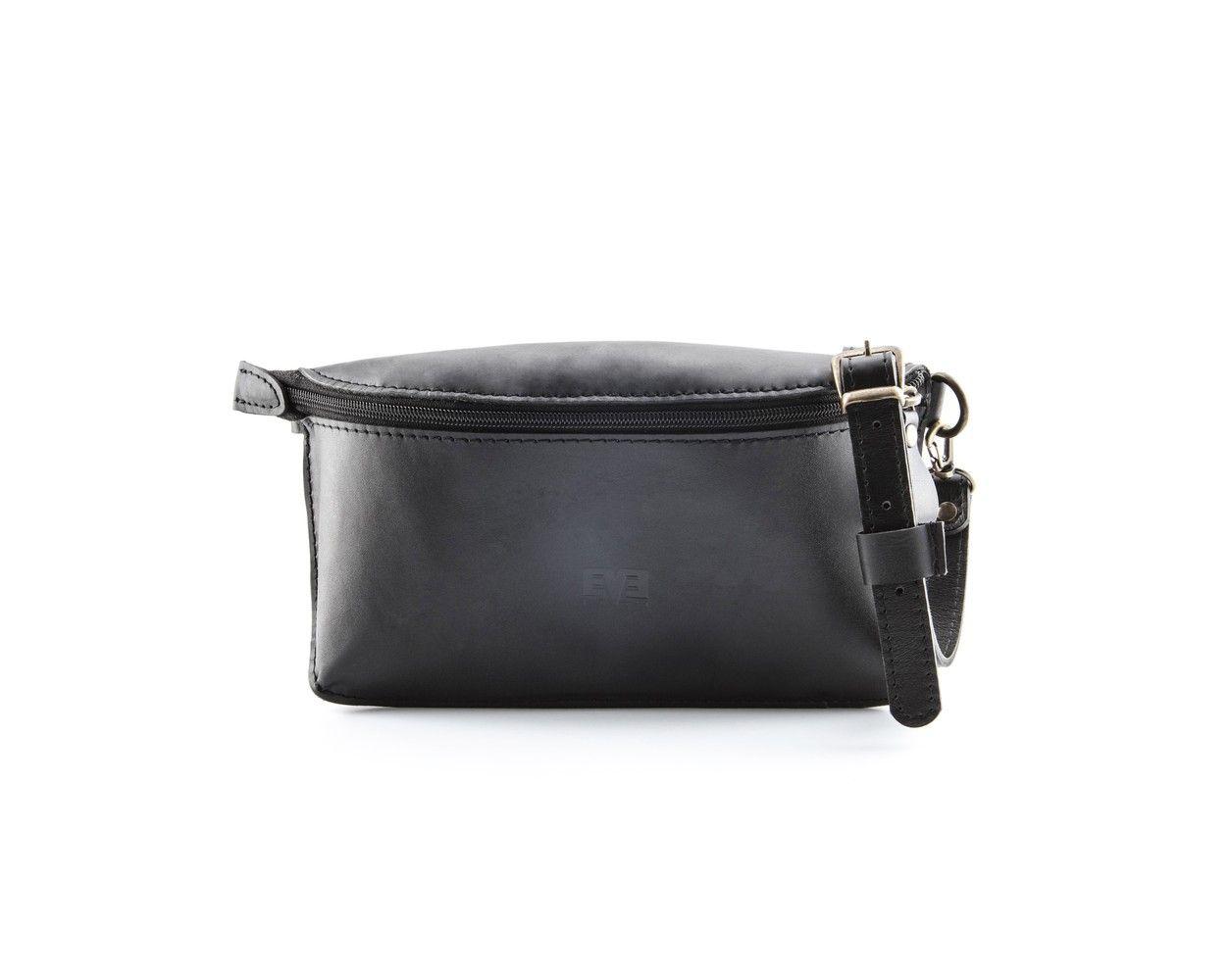 b16af08d9c35 Поясная кожаная сумка Виноград Чёрная | koshel | Pinterest