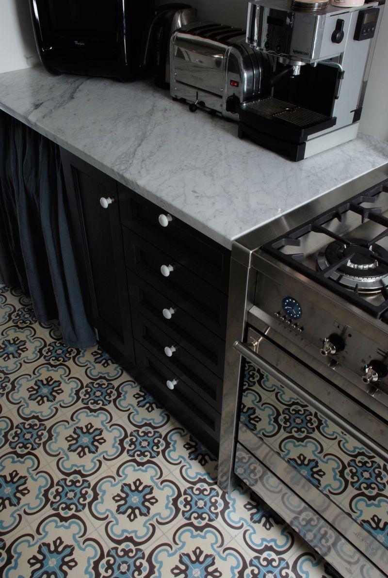 Kitchen Carreaux De Ciment Cuisine Moderne Designs De Petite Cuisine Decoration Cuisine