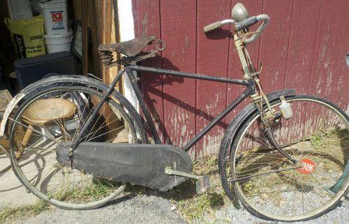 Vintage Humber England 1940 S Bisiklet