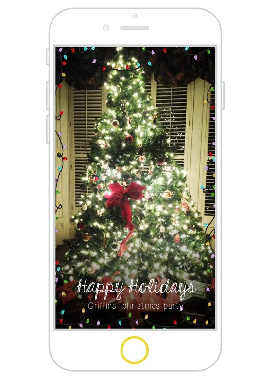 christmas lights snapchat filter christmas party by whiskeypearl