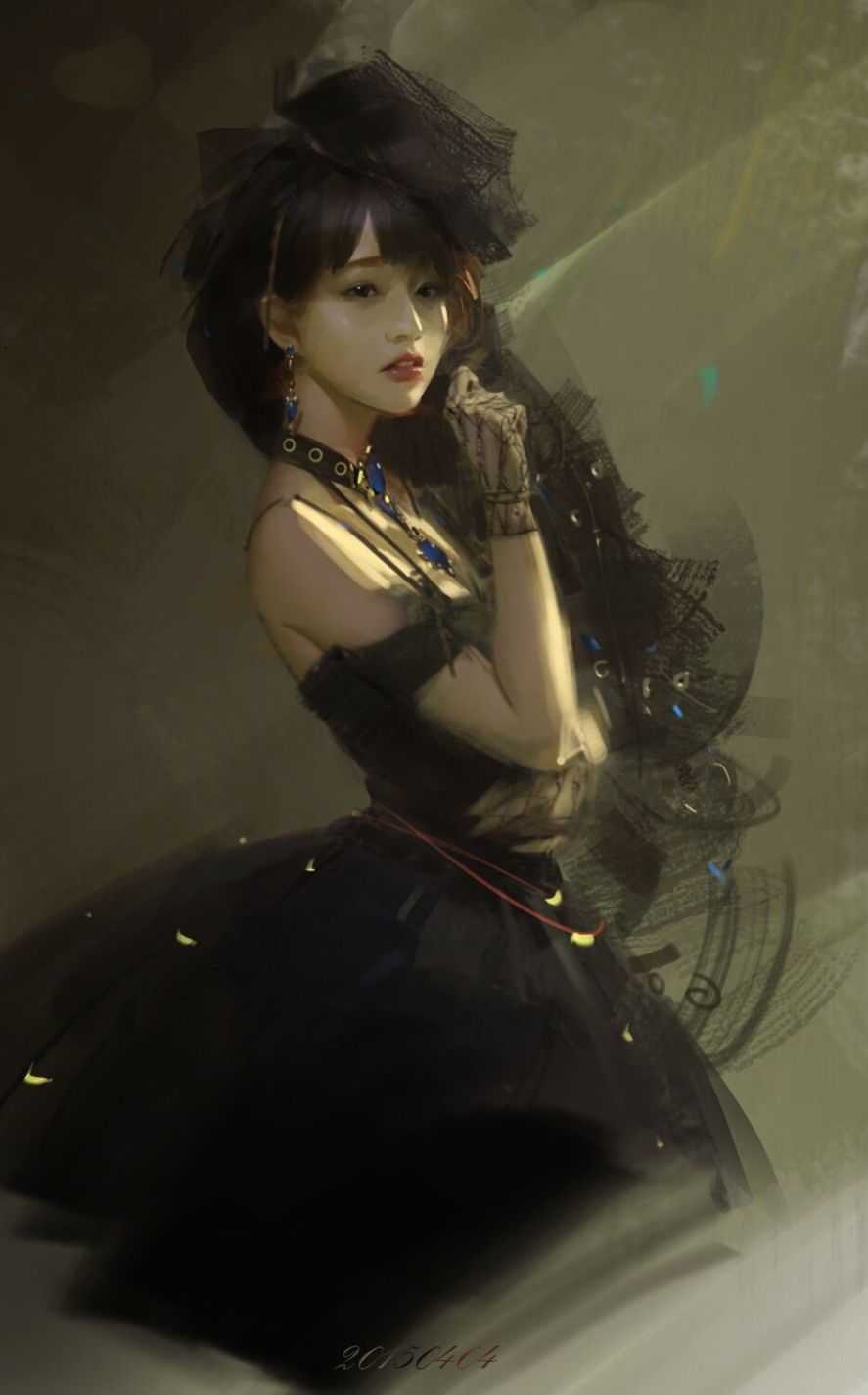 Digital Portrait - Fantasy By `Y 。(Nick Name) From `Chengdu, China