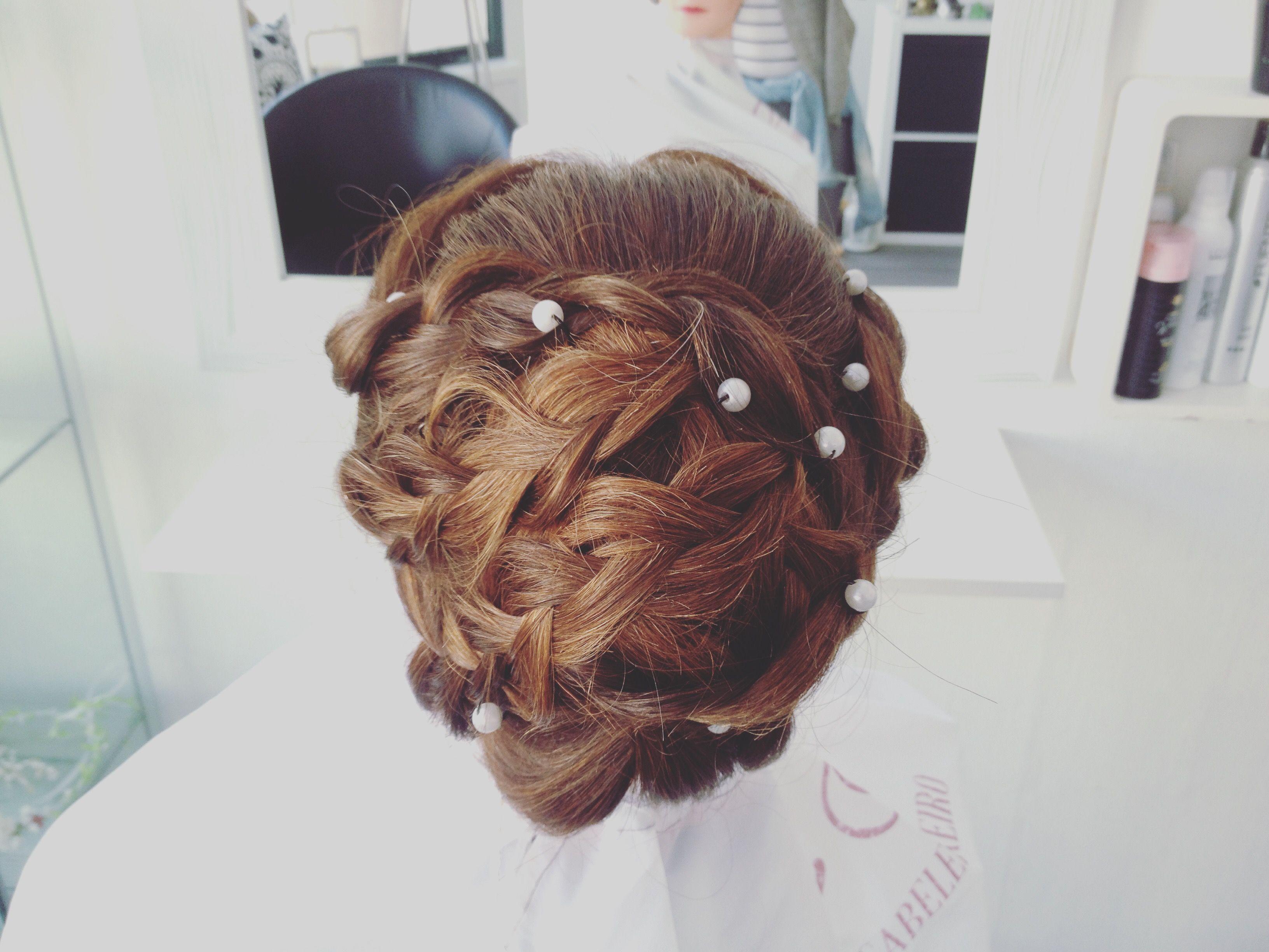 Hair u make up by estefânia genovese brides hair pinterest