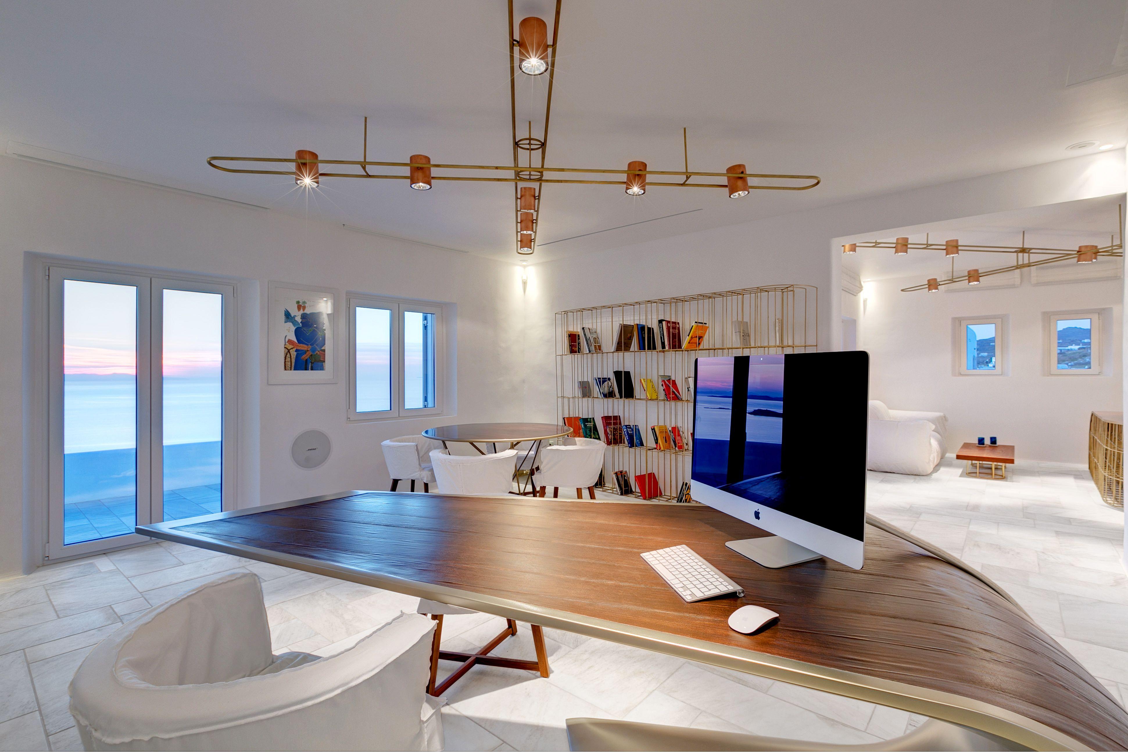 Architecture Mykonos Office Design Eleftherios Ambatzis Structural Engineer Spyridon Apostolou